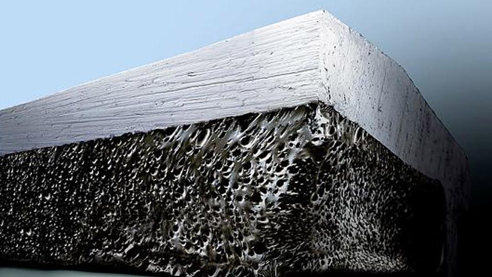 cấu trúc băng keo 2 mặt dưới kính hiển vi