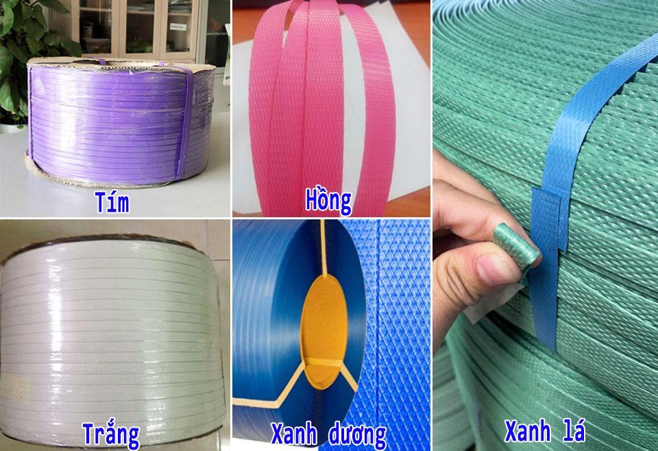 Áp dụng cho các màu trên đây, kích thước 9mm ,12mm và 15mm với giá chỉ 120k/cuộn 10kg