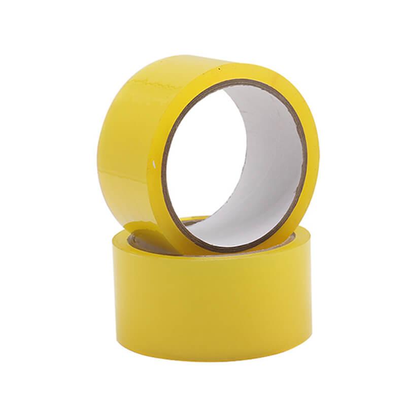 băng keo trong màu vàng