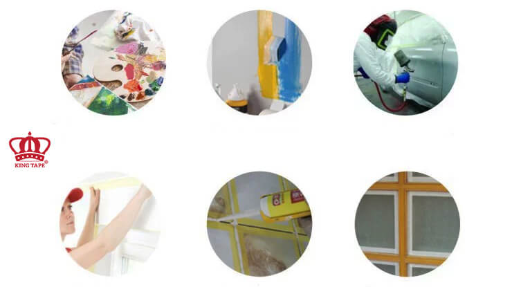 công dụng của băng dính giấy chịu nhiệt