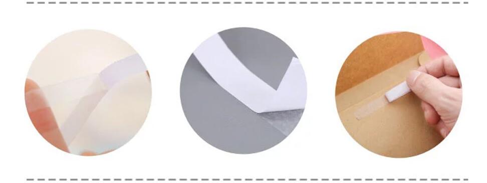 đặc điểm băng keo 2 mặt trắng dầu