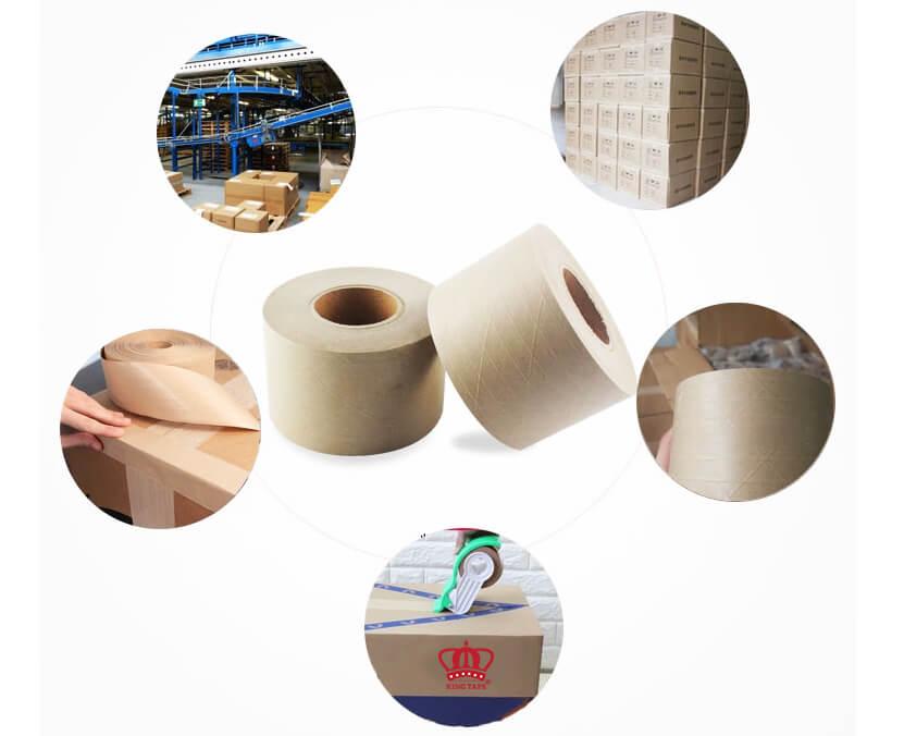 ứng dụng băng keo giấy thấm nước