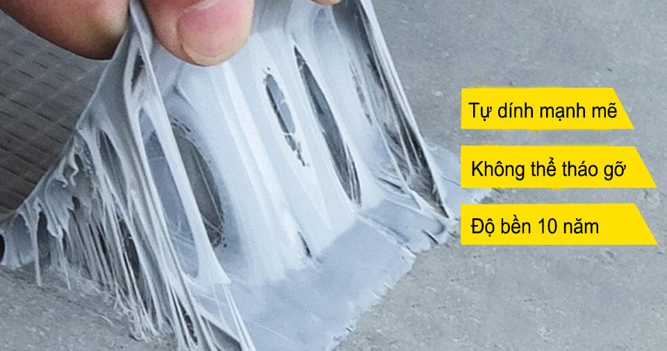 khả năng chống thấm của băng keo nhật bản